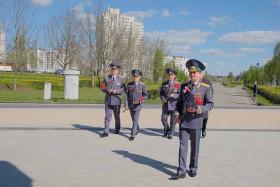 Председатель ГТК Юрий Сенько почтил память погибших в мемориальном комплексе «Тростенец» к 75-летию Победы в Великой Отечественной войне.