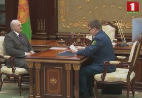 Председатель ГТК доложил Президенту Беларуси об итогах работы в 2018 году